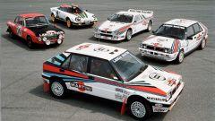 Tutte le Lancia Campionesse Mondiali Rally