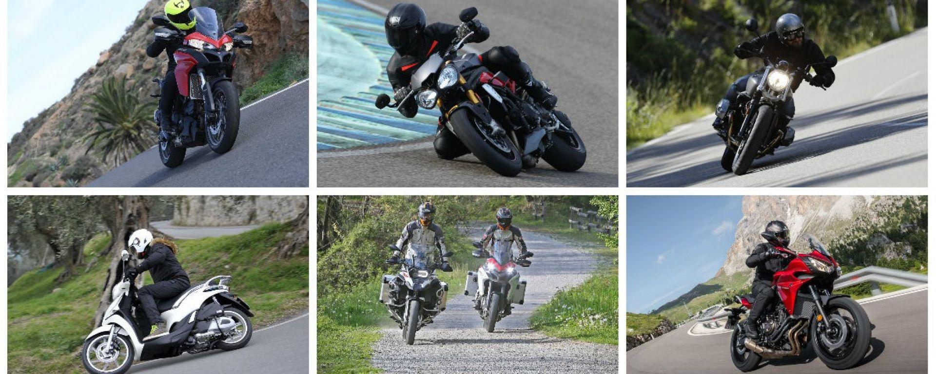 Tutte le prove moto e scooter del 2016