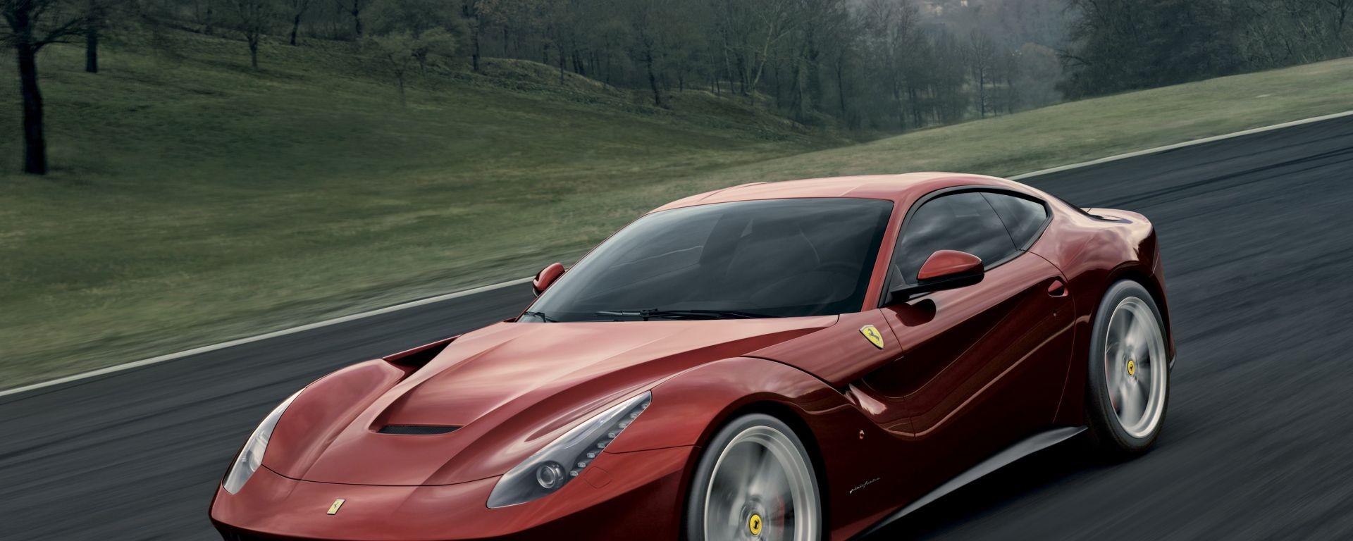 Tutti i segreti della Ferrari F12berlinetta