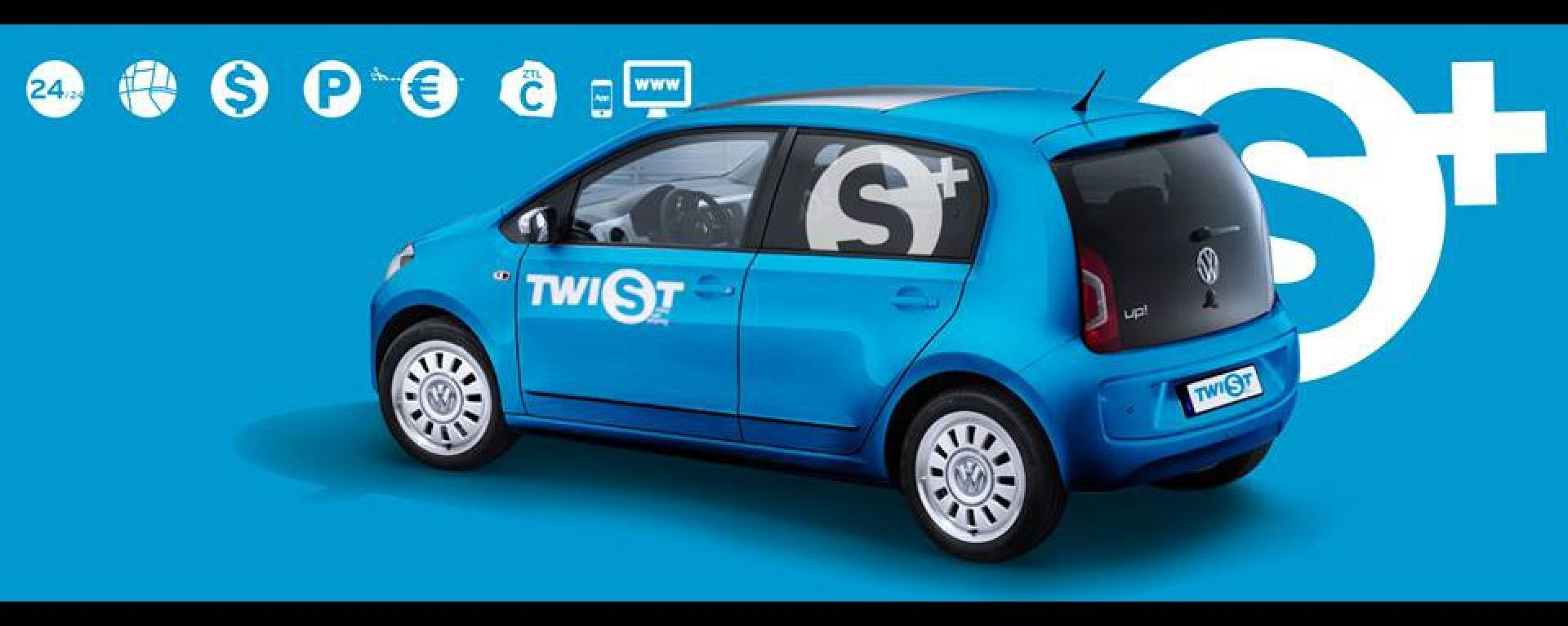 Twist con la Volksvagen Up!