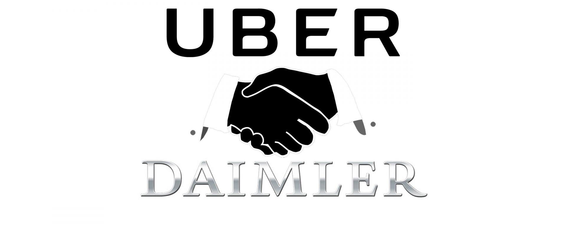 Uber e Daimler collaboreranno per lo sviluppo di auto a guida autonoma