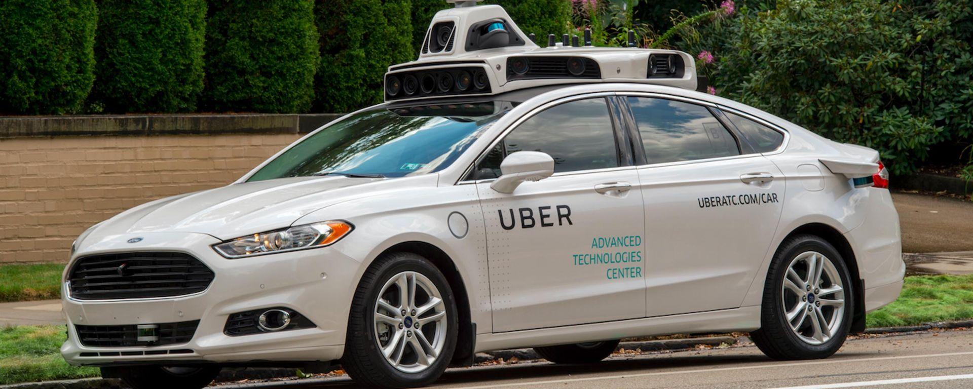Uber: la Ford Fusion a guida autonoma ha iniziato i test per le strade di Pittsburgh