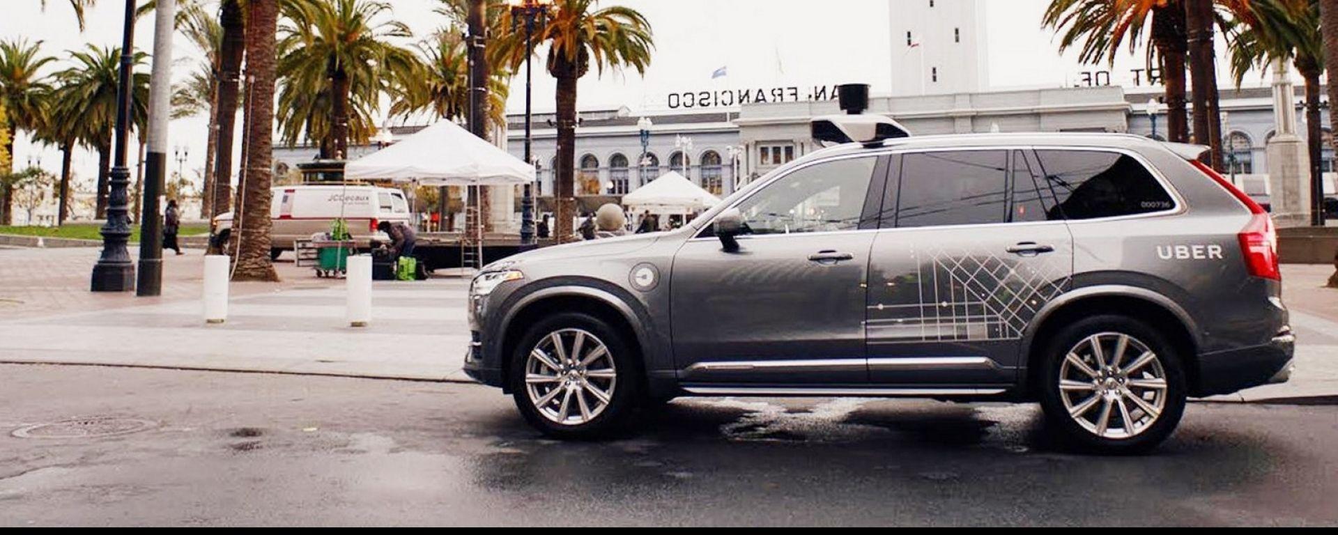 Uber sceglie Volvo XC90 come robotaxi del futuro