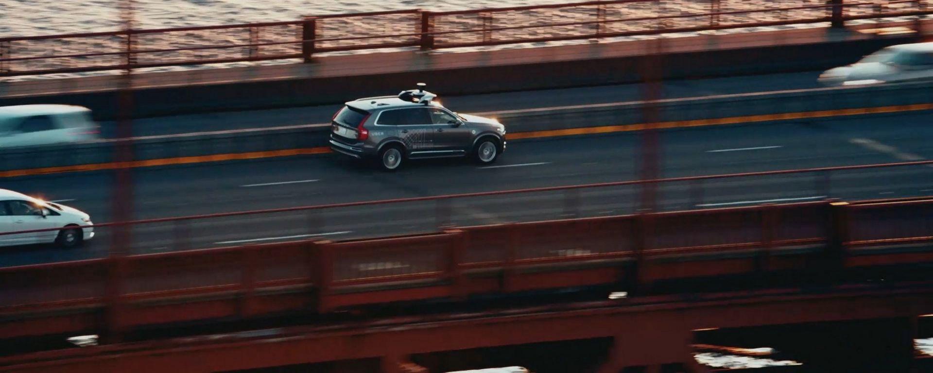 Uber: un prototipo di auto a guida autonoma