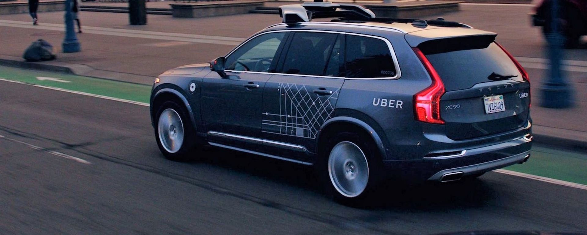 Uber: una Volvo sperimentale a guida autonoma