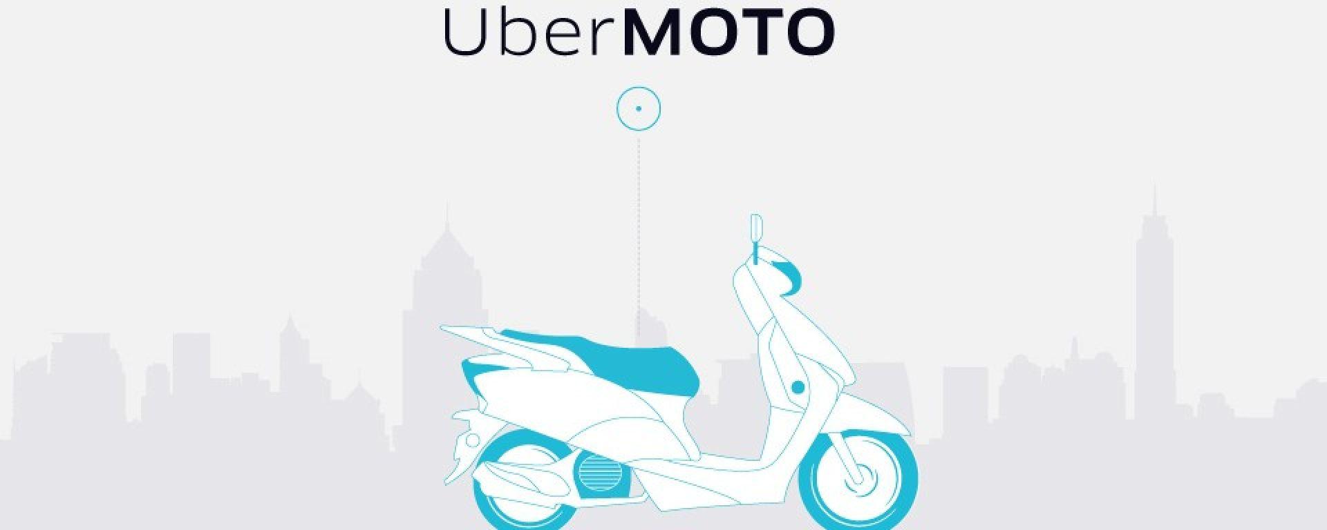 UberMOTO: il servizio taxi a due ruote debutta a Bangkok