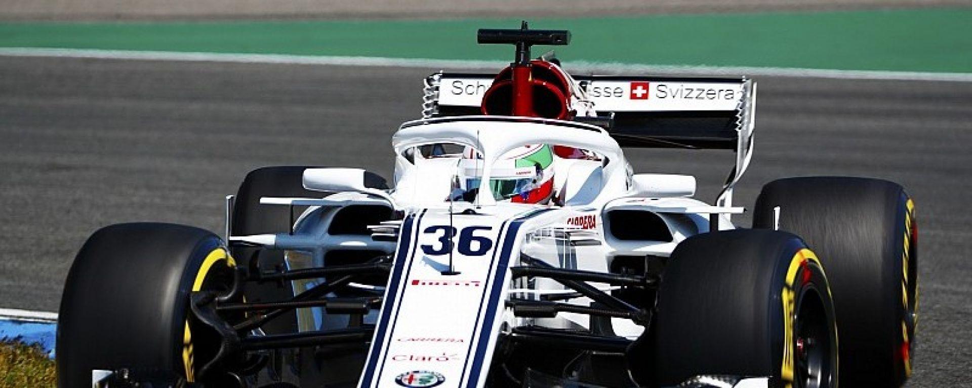 Ufficiale: Antonio Giovinazzi nuovo pilota Sauber nel 2019