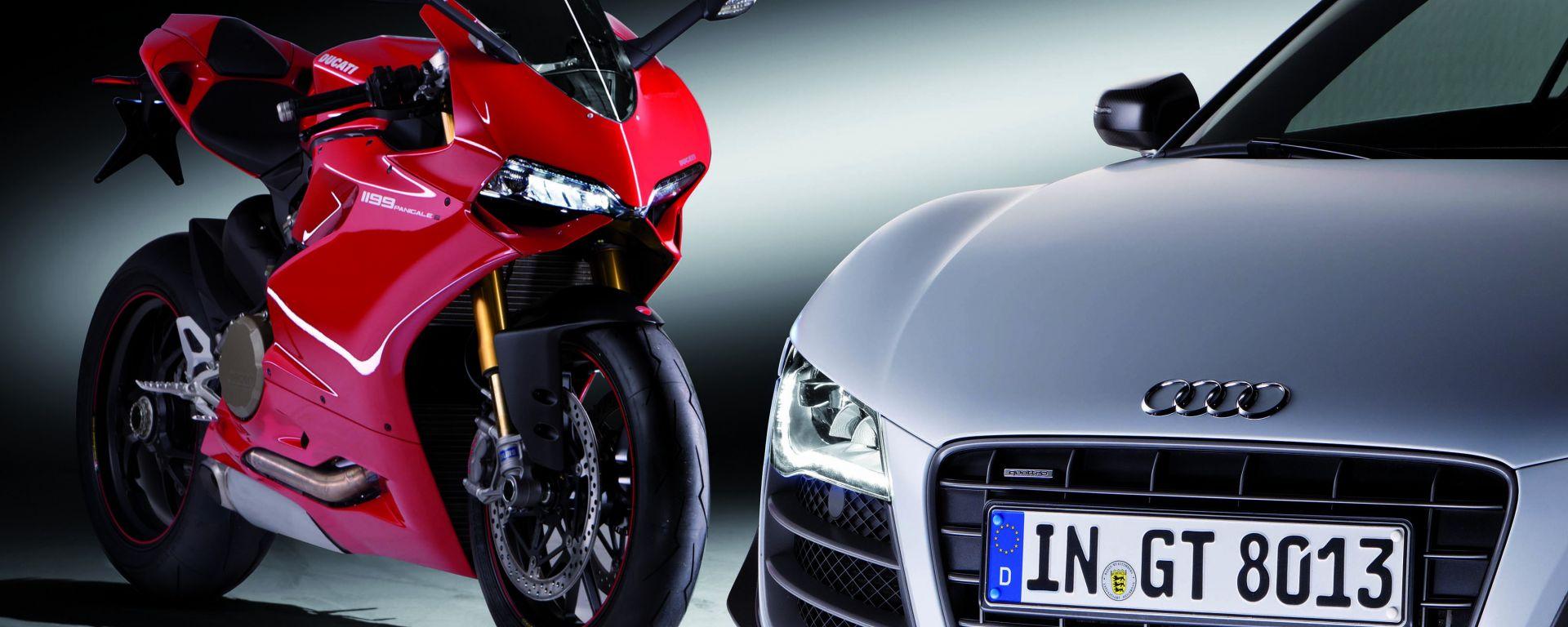 Audi compra Ducati: matrimonio d'interesse