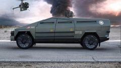 Ultimate Tactical Combat Cybertruck: il pickup di tesla diventa un mezzo militare