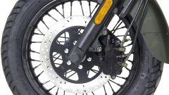 UM Motorcycles Renegade Commando, forcella anteriore