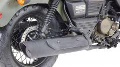 UM Motorcycles Renegade Commando, scarico