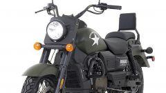UM Motorcycles Renegade Commando, vista anteriore sinistra