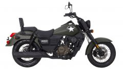 UM Motorcycles Renegade Commando, vista laterale