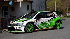 Umberto Scandola e Guido D'Amore - Skoda Fabia R5 Skoda Motorsport Italia