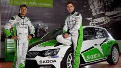 Umberto Scandola e Guido D'Amore - Skoda Motorsport