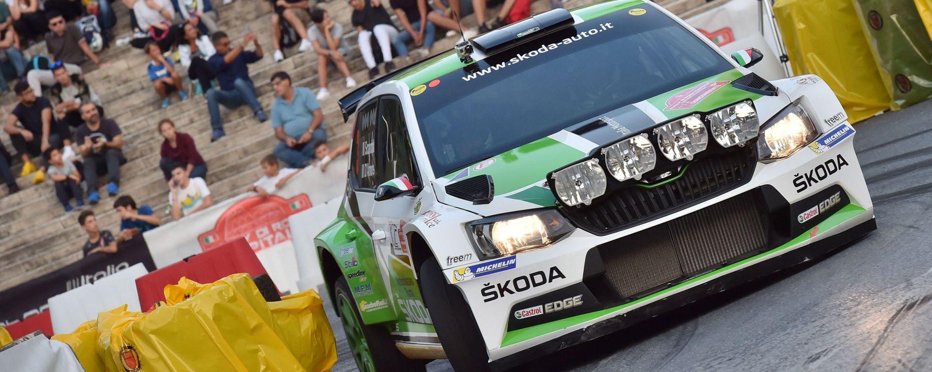 CIR, Gara 2, Rally Roma Capitale: trionfano Scandola e la Skoda