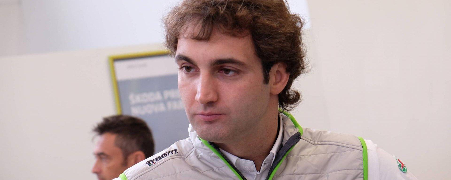 Umberto Scandola - Skoda Fabia R5