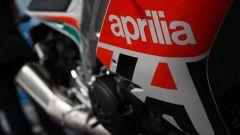 Un dettaglio della Aprilia RSV4 RR Misano Edition