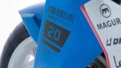 Un dettaglio della Brand New Jack, la special di Icon su base Suzuki Katana