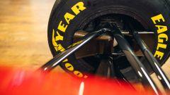 Un dettaglio della Ferrari 412 T2, la prima Ferrari guidata da Schumacher | Foto: Girardo.com