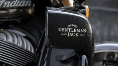 Un dettaglio della Indian Roadmaster Jack Daniel's Limited Edition
