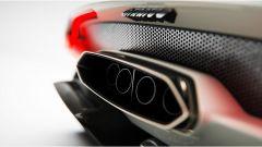 Un dettaglio della Lancia Stratos Zero rivisitata da Gentile