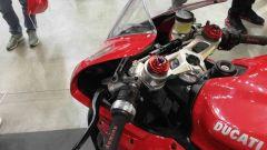 Un dettaglio di Efesto 200 Novantanove Hybrid Kit su Ducati Panigale