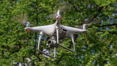 Un drone in dotazione alla polizia francese