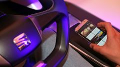 Un esempio dei futuri servizi tecnologici che saliranno a bordo delle Seat