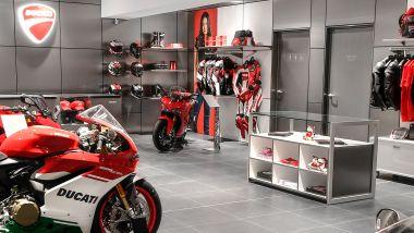 Un esempio di concessionario Ducati