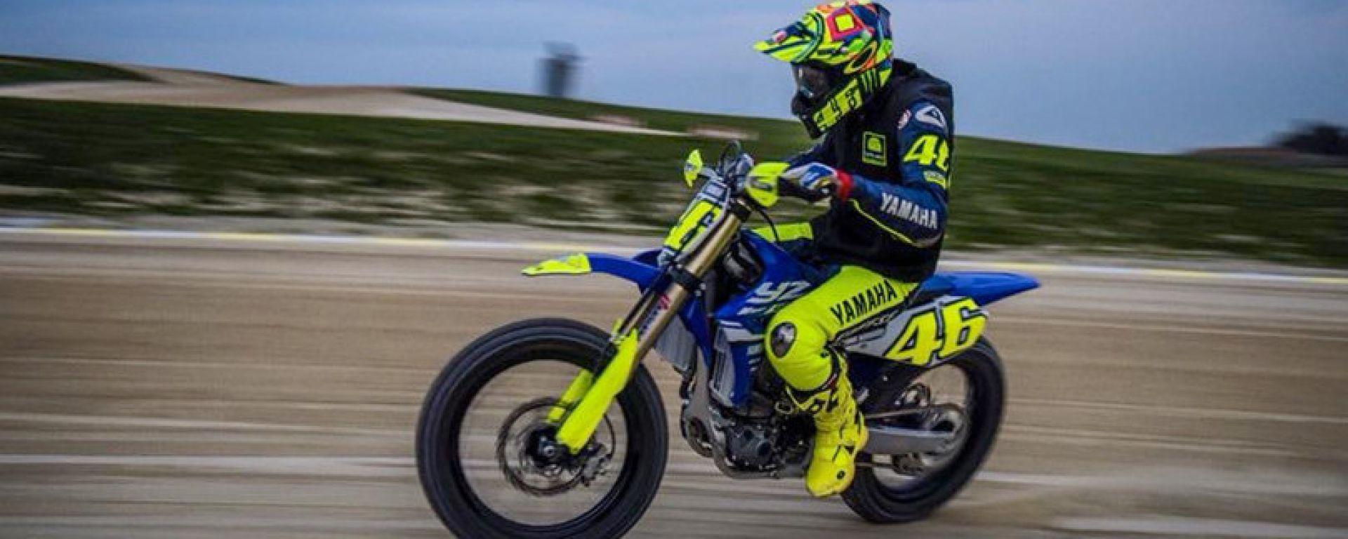 Un giro al ranch con Valentino Rossi - VIDEO