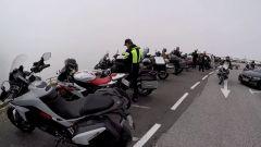 Un gruppo di moto in cima al Glossglockner