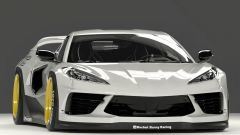 Un kit widebody davvero impressionante per Chevrolet Corvette C8