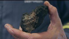 Un nodulo di manganese