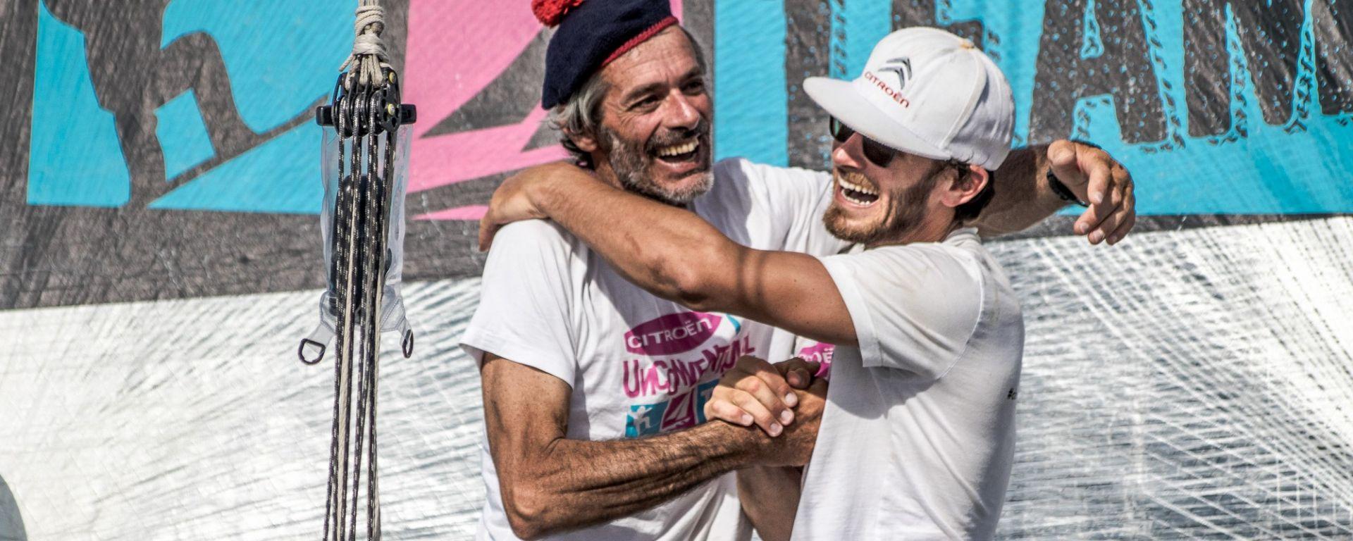 Un nuovo record per Vittorio e Nico Malingri, con la maglia dell'Unconventional Team Citroen