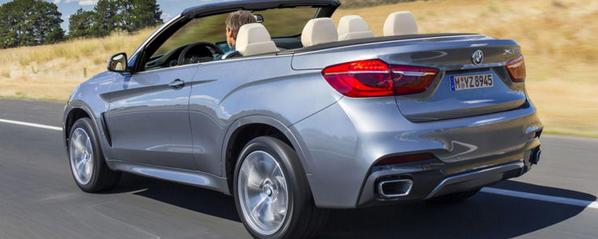 Un Suv cabrio a marchio BMW? Perché no...