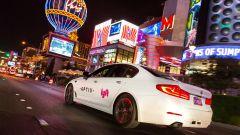 Un taxi Lyft a guida autonoma su base BMW