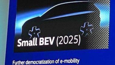 Un teaser della Volkswagen ID.2?