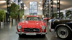 Una 300SL nel reparto Mercedes Classic