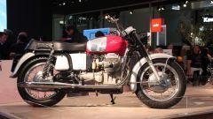 Una bella Moto Guzzi d'epoca