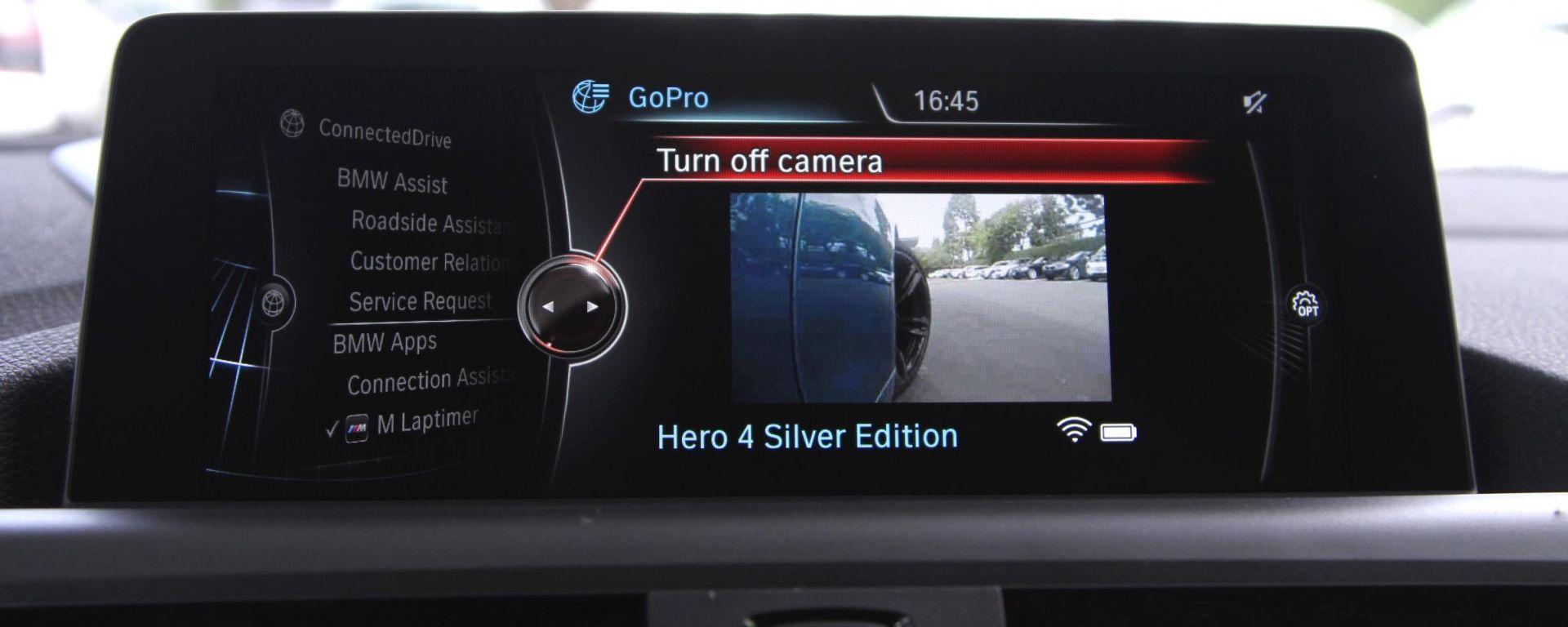 Bmw aggiorna la sua app per farti usare meglio la GoPro nei track day