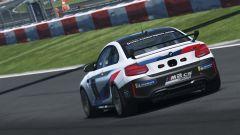 Una BMW M2 CS in pista