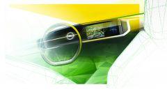 Una bozza del nuovo Pure Panel di Opel Mokka