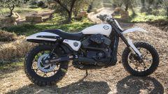Una delle tante Harley-Davidson XG750 da Hill Climb preprate apposta per l'occasione