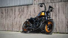 Una delle tante special Harley-Davidson su base Softail