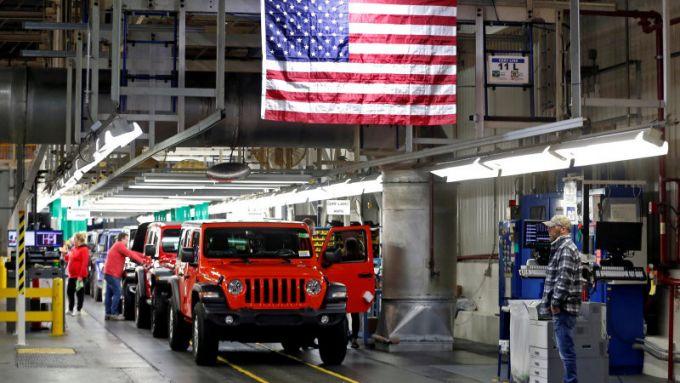 Una fabbrica americana di FCA