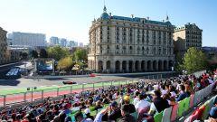 Una fase del GP Azerbaijan 2019
