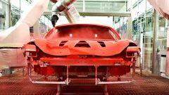 Ferrari prima al mondo ad adottare la verniciatura a bassa temperatura