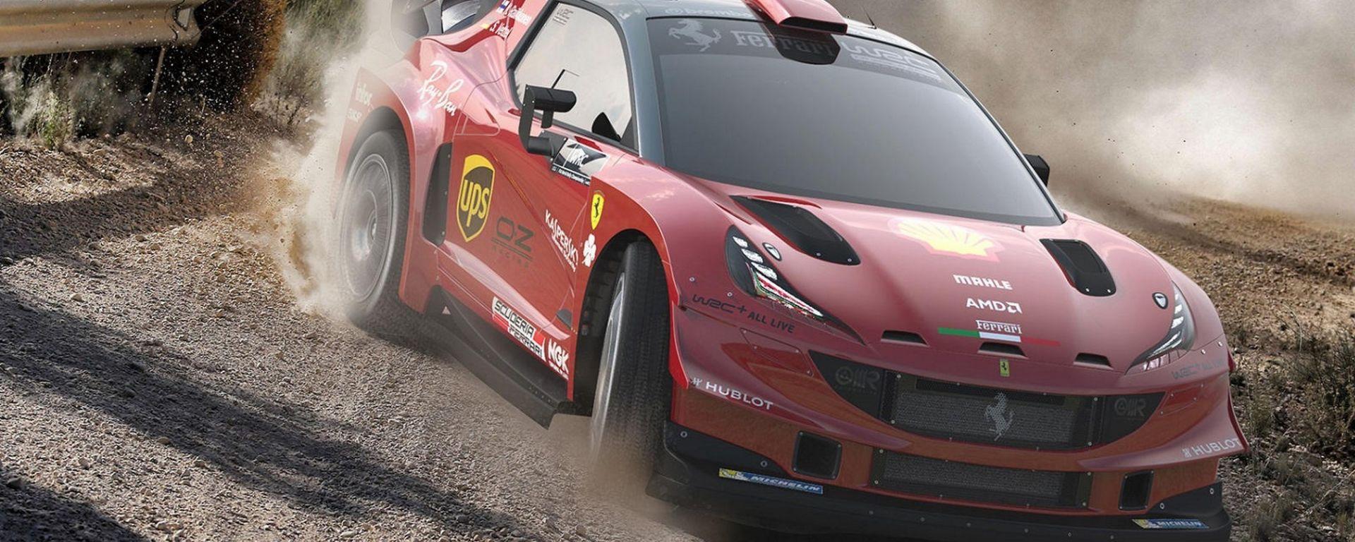 Una Ferrari WRC? Ecco come potrebbe essere
