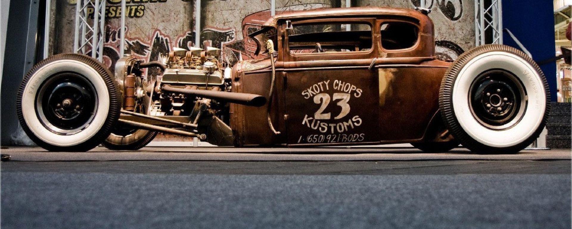 Una Hot Rod: icona delle auto tradizionali USA